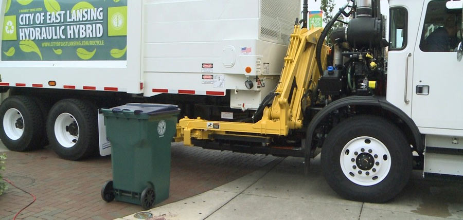 EL Recycling Cart and Truck