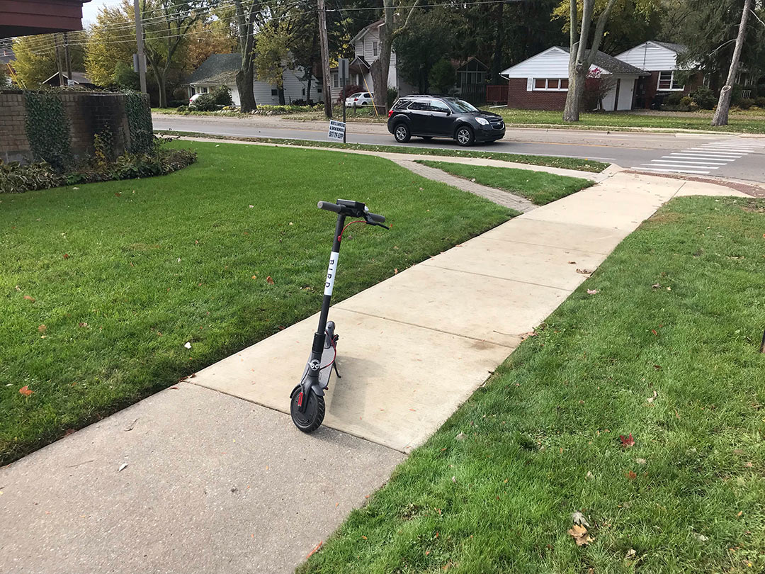 Bird Scooter, East Lansing